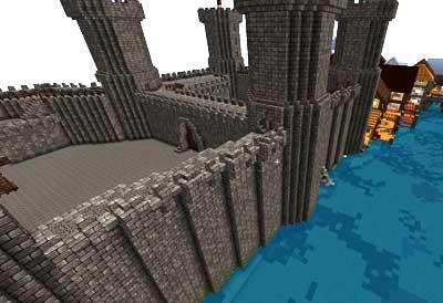 Cómo construir murallas en Minecraft creativo