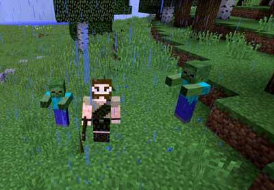 Minecraft primer día