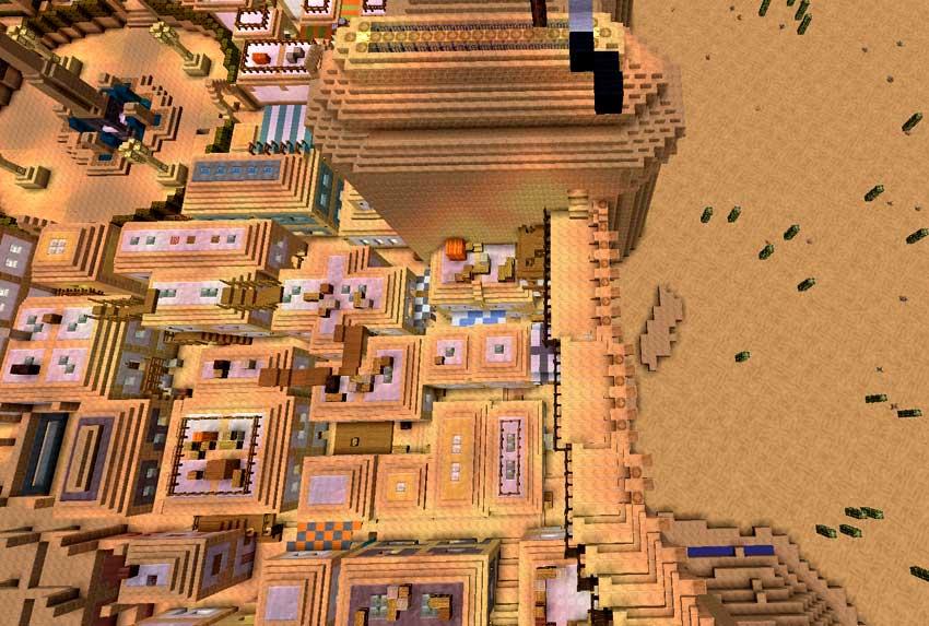 muralla ciudad vista pajaro