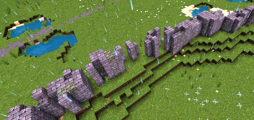 muralla derruida