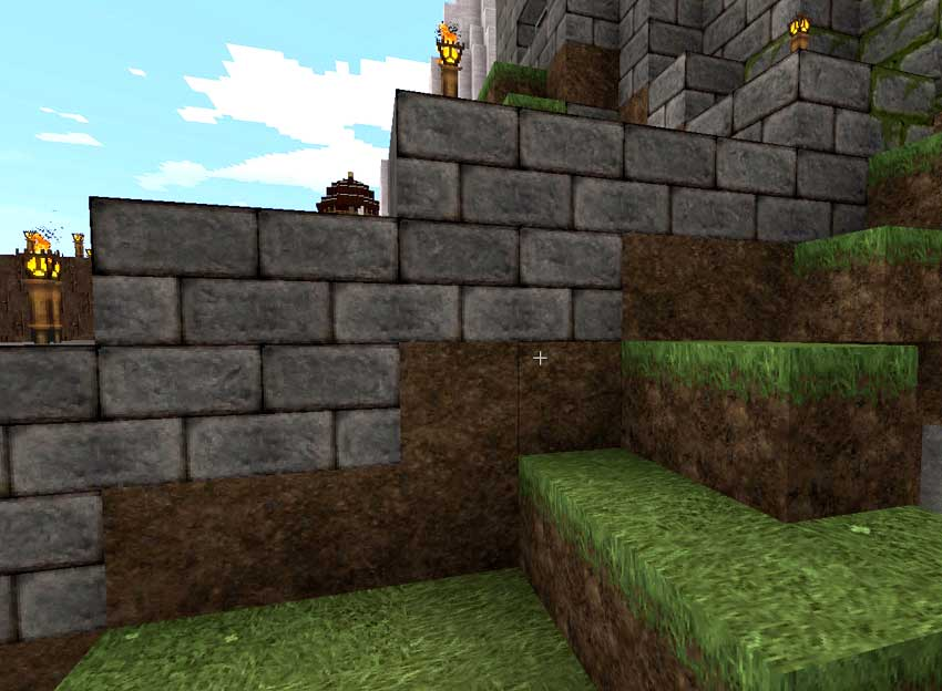 muralla toca suelo