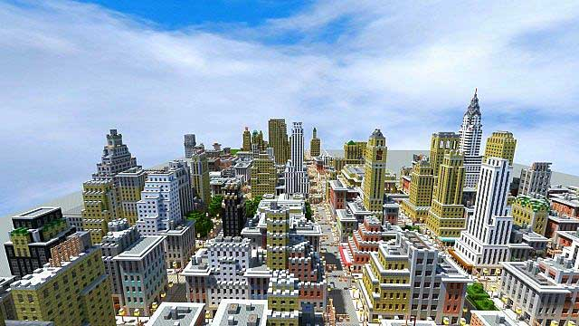 New York en Minecraft