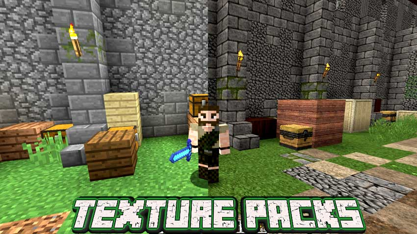 Minecraft Texture Packs Guia Minecraft