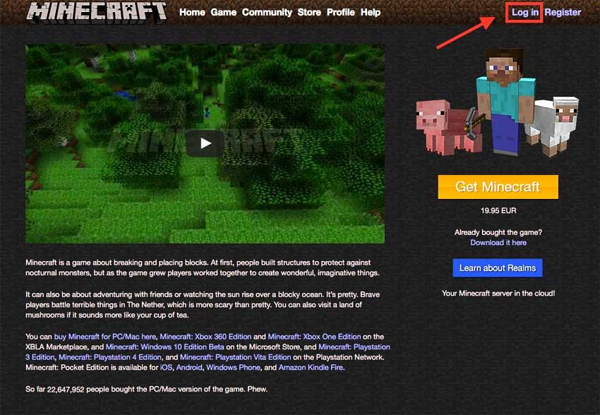 Cómo cambiar skins de Minecraft