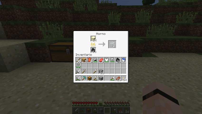 Minecraft ,todos sus crafteos y tambien los de la 1.7 ...