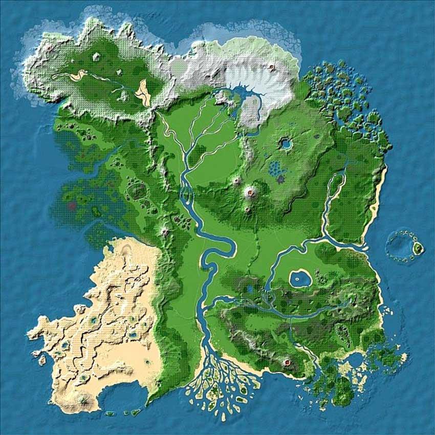 Mapa de Survival de Apterus
