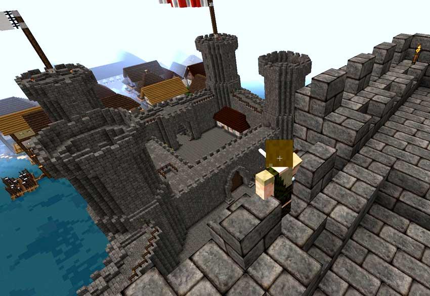 imagen de castillo con mods