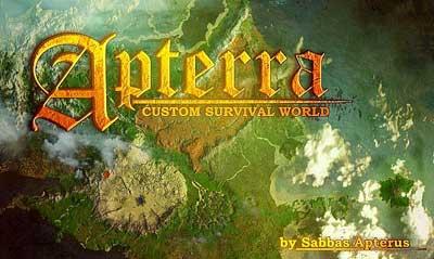 mapa APTERRA