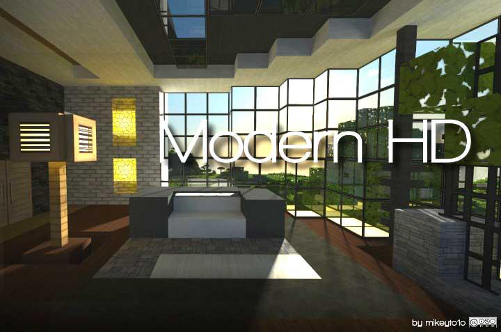 Modern HD Texture Pack para Minecraft