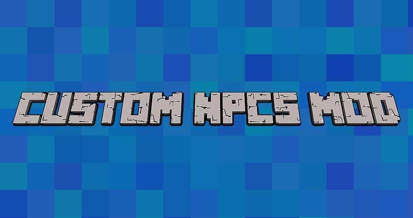 Custom NPCs Mod para Minecraft