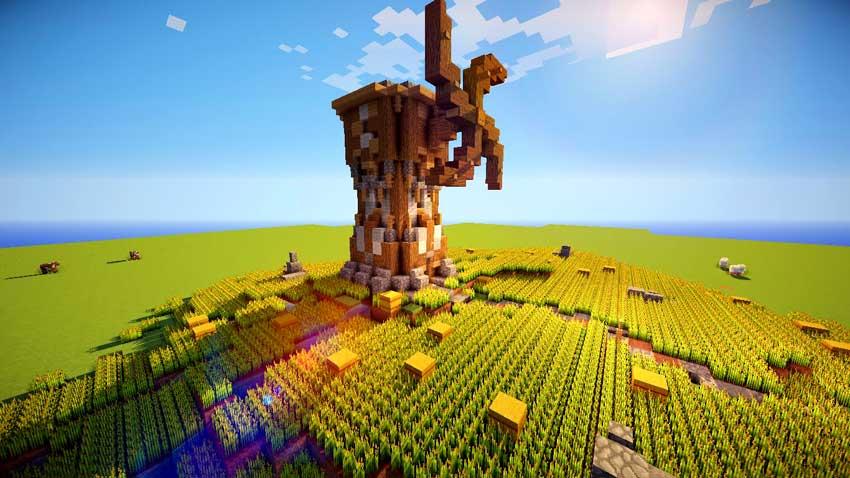 C mo hacer una granja en minecraft mega gu a for Como hacer una granja de peces