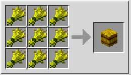 hacer bloque de heno