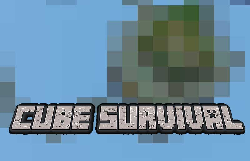cube survival map para minecraft