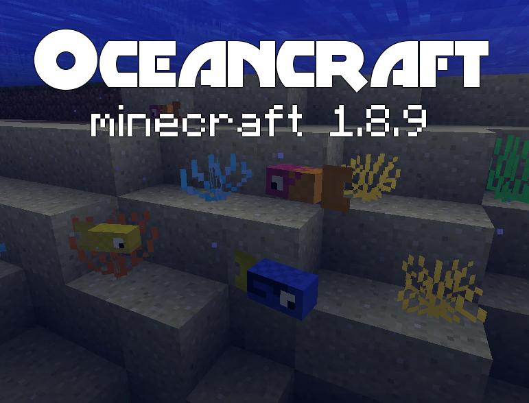 Mod Oceancraft para Minecraft